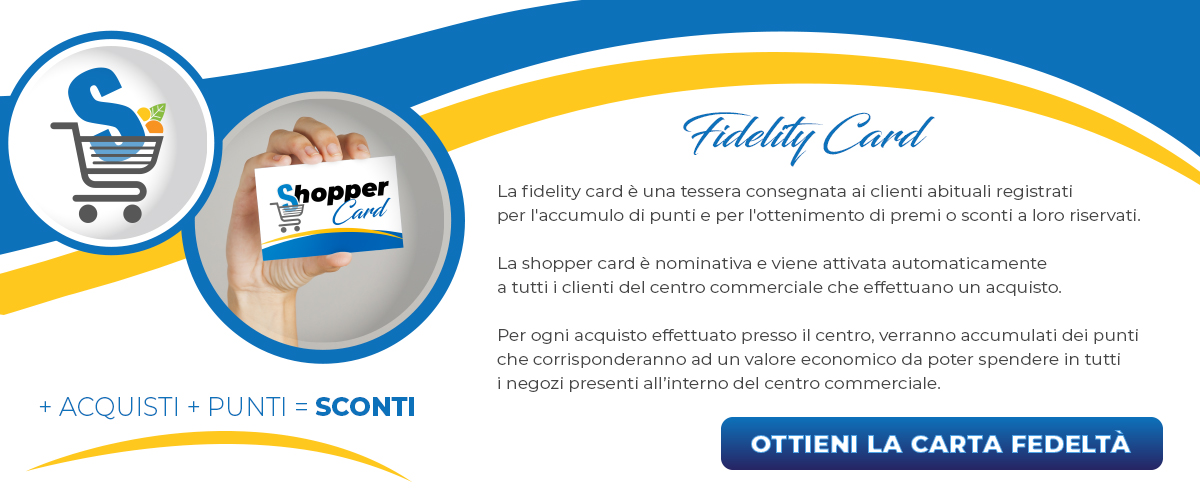 Scopri Shopper Card