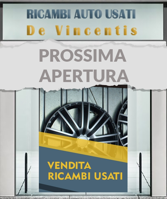 Ricambi Auto Usati - De Vincentis