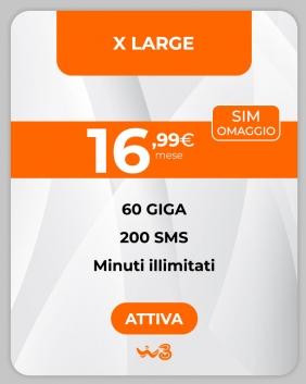 Offerta WindTre X Large