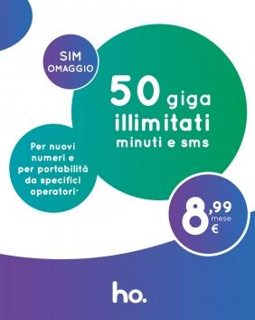 Offerta HO Mobile 50