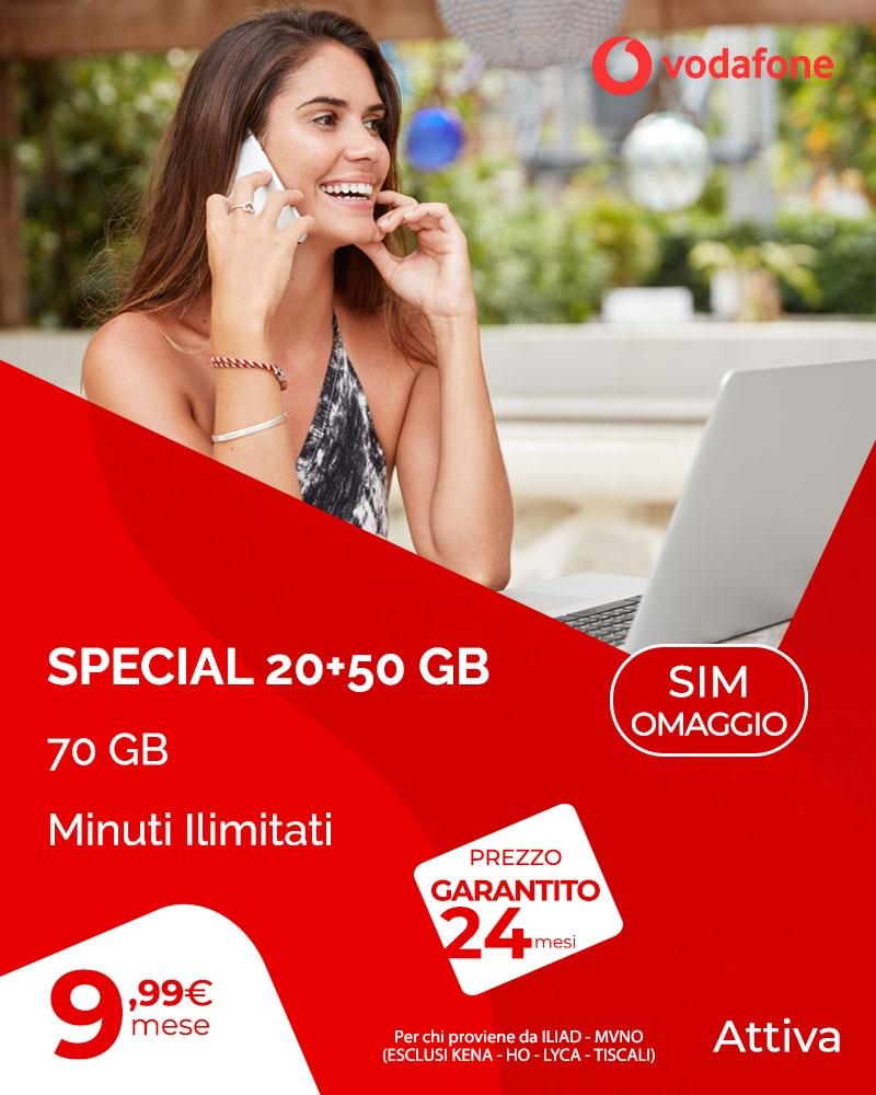 Offerta Special 20+50 GB
