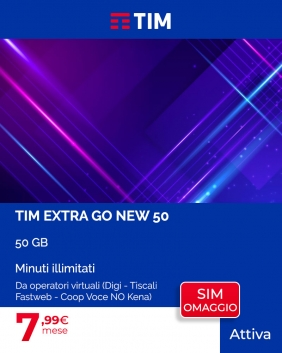 Offerta TIM Extra Go New 50GB