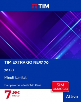 Offerta TIM Extra Go New 70GB