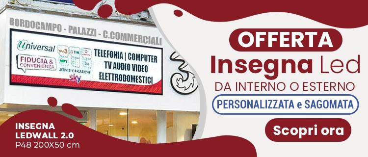 Al Centro Commerciale - Universal Ledwall